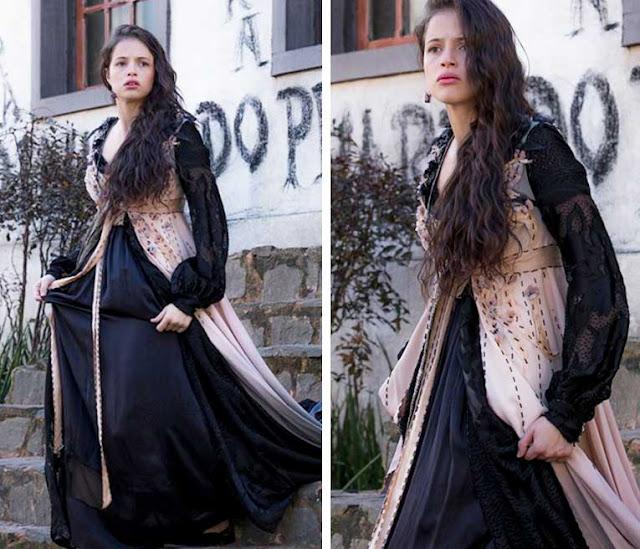 Domitila Vestido preto