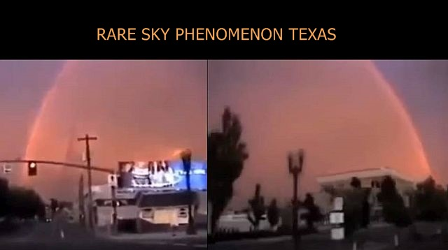 Strange spherical shape-like sky phenomenon filmed over Texas  Spherical%2Bshape-like%2Bsky%2Bphenomenon%2BTexas