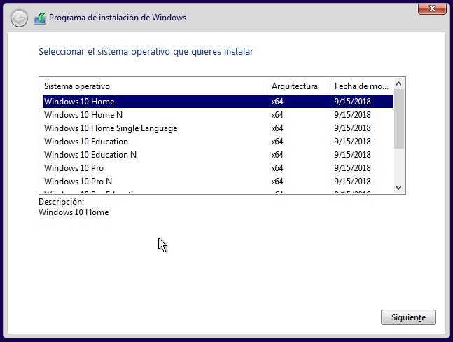 Windows 10 AIO RS5 Versión 1809