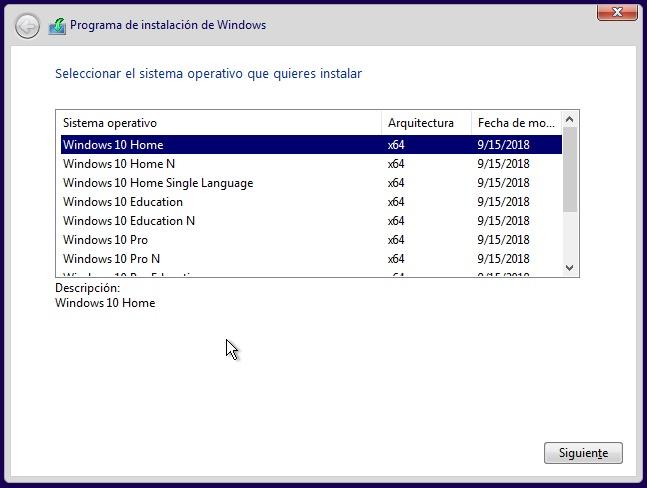 Windows 10 AIO RS5 Versión 1809
