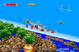 After Burner gameplay
