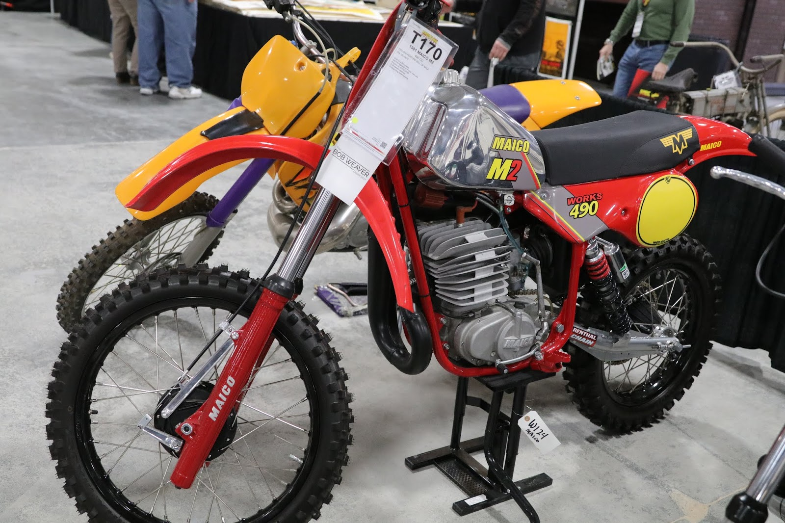 OldMotoDude: 1979 Maico 490 M2 sold for $10,175 at the 2019