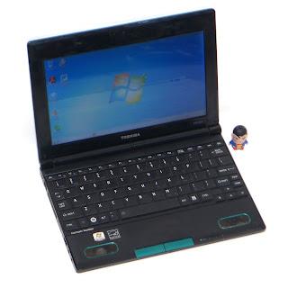 NoteBook Toshiba NB520 Proc. N2800 Second di Malang