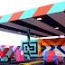Maser  transforma una gasolinera en una instalación de PoP Art
