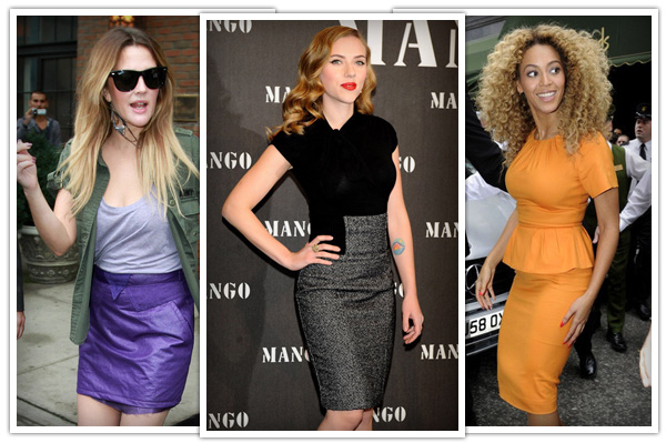 skirts for hourglass body shapes