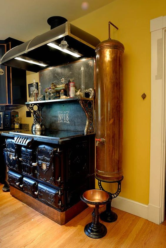 Steampunk Kitchen Decor