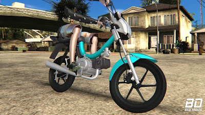 Download, mod, moto, Mobilete, MOBY, DO GUI 80, MELHORADA, GTA San Andreas, GTA SA, PC