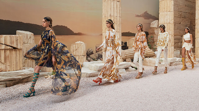 Chanel Resort 2018 - Ancient Greece - Tempel of Poseidon