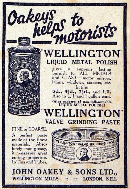 Wellington valve grinding paste