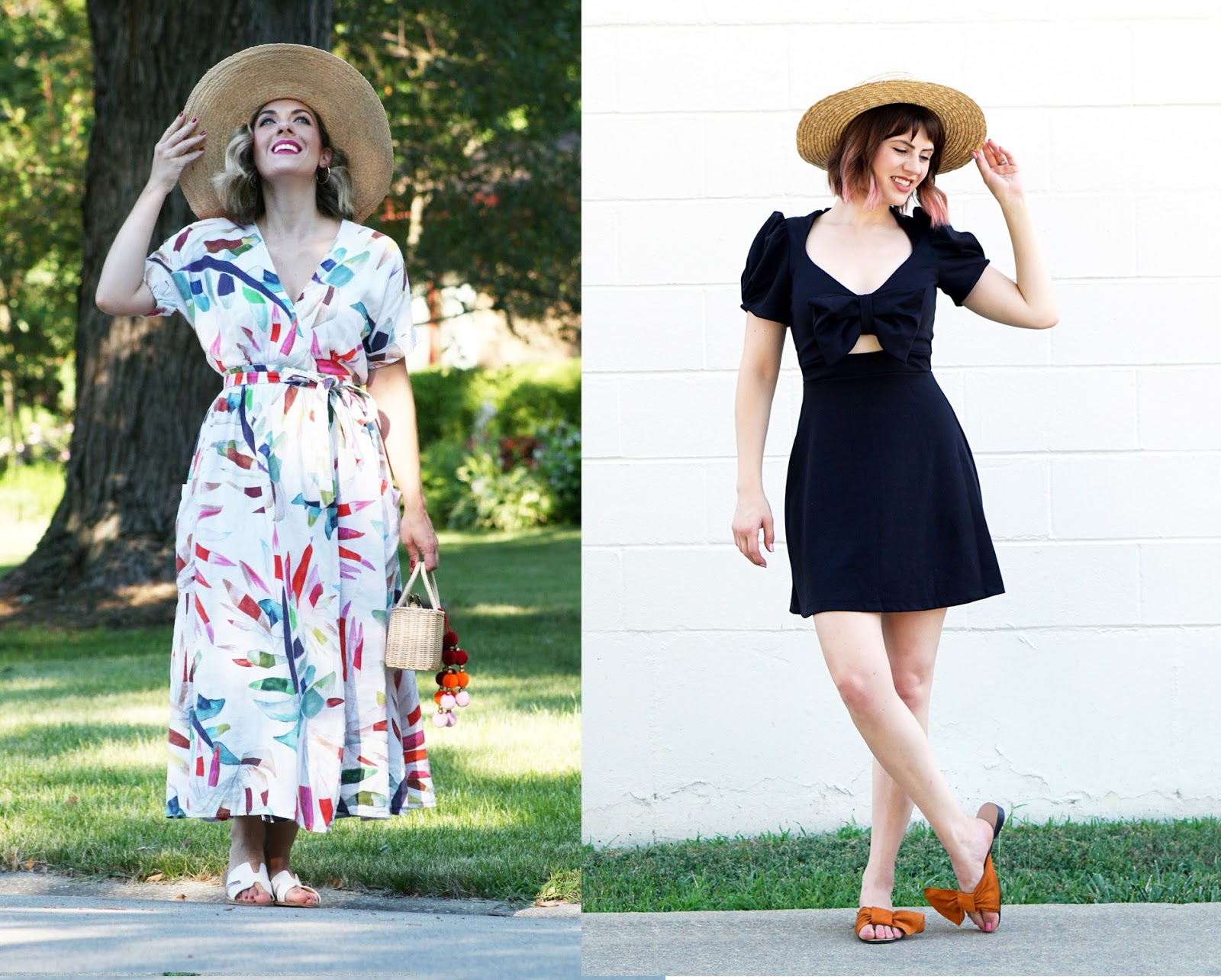 Fashion style How to straw wear hat for woman