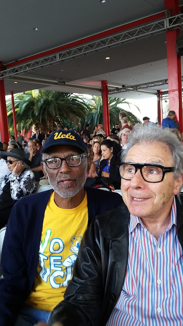 John Malveaux: Sept 8, 2017 attended LA Jazz Treasure Award performance honoring pianist, composer, and conductor Lalo Schifrin at Los Angeles County Museum of Art
