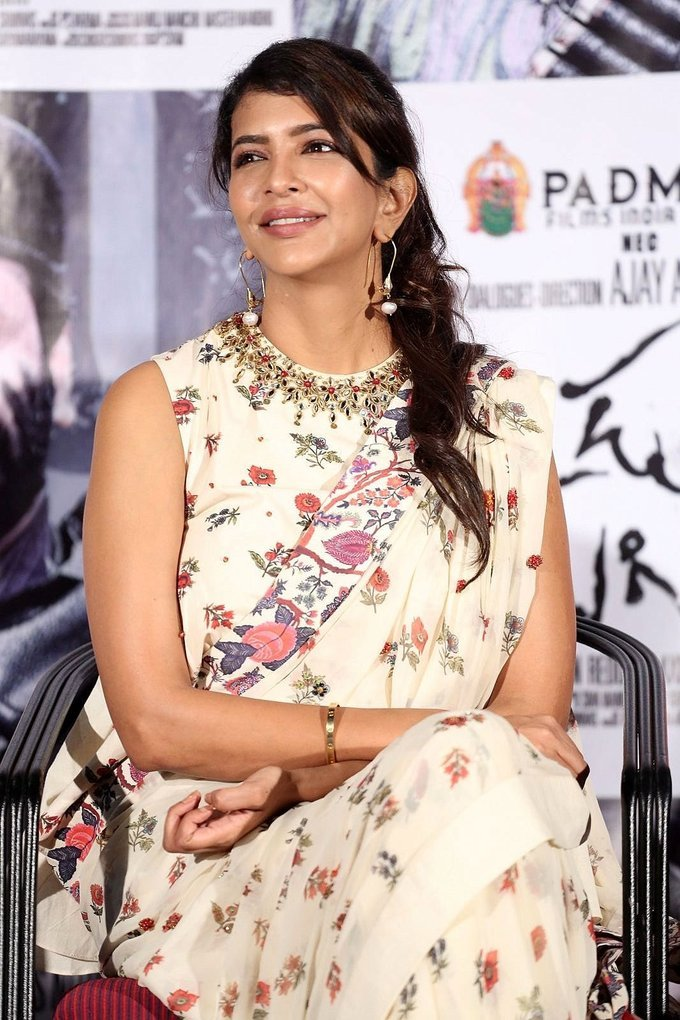 Lakshmi Manchu at Okkadu Migiladu Trailer Launch Photos