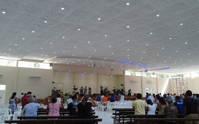 Forro Acústico para Igreja #Erigesso
