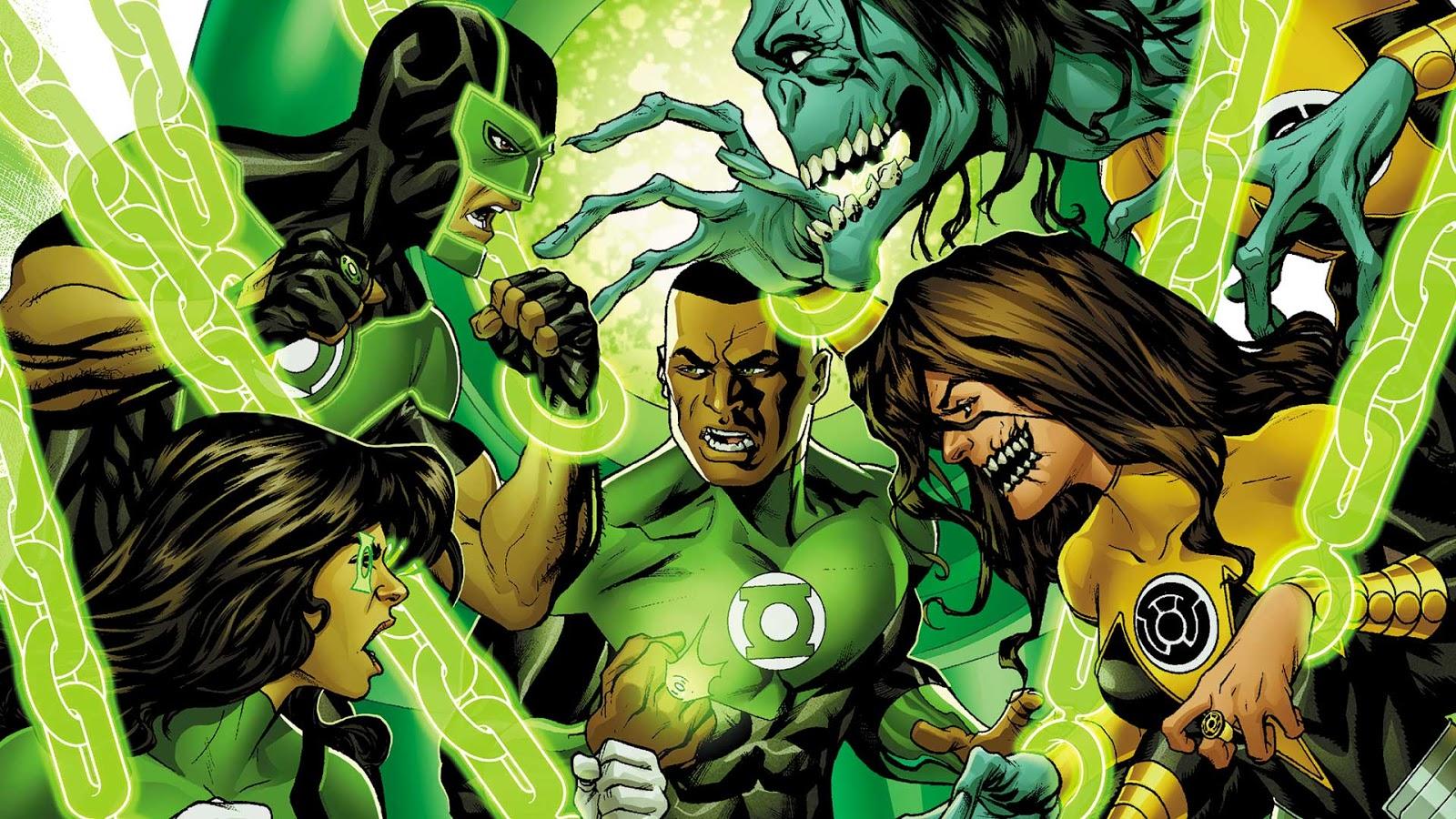 Green Lantern Comic Wallpaper: Weird Science DC Comics: Green Lanterns #24 Review And
