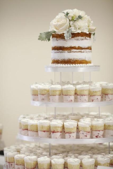 tort ślubny z babeczek, cupcake na ślub