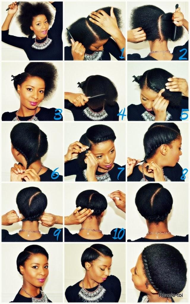 Pleasant My Fair Hair Lookbook Braided Crown Protective Hairstyle Short Hairstyles Gunalazisus