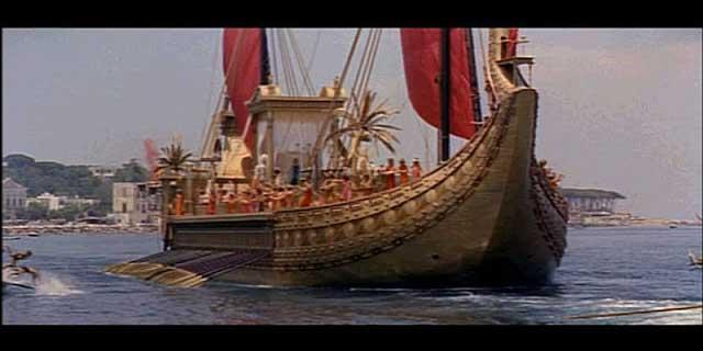 Cleopatra warships
