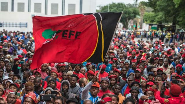 Protestas contra el racismo en Sudáfrica