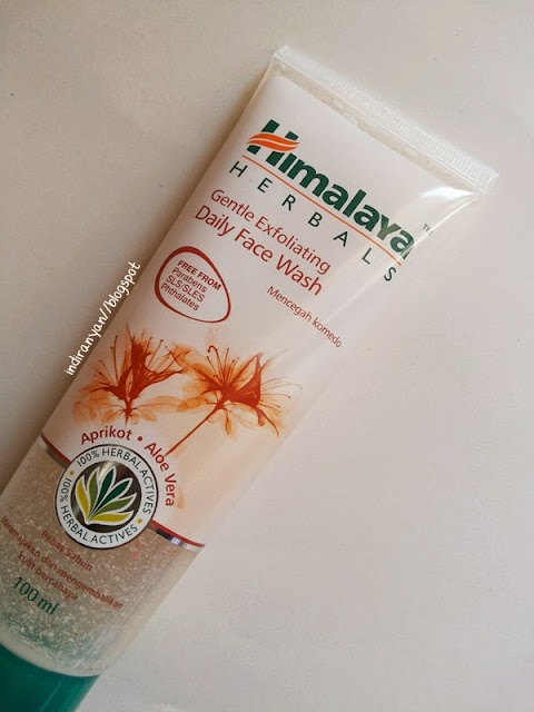 [REVIEW] Himalaya Herbals : Gentle Exfoliating Daily Face Wash