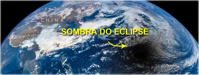 eclipse solar - por que ele vai de oeste para leste?