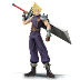 Cloud entra em Super Smash Bros.!
