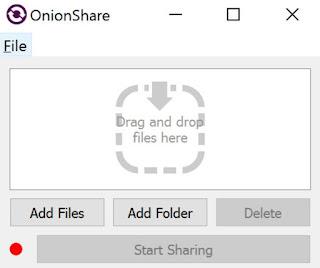 inviare file anonimi