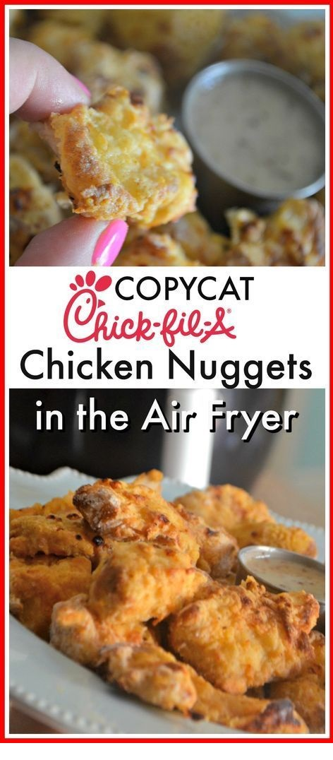 Air Fryer Copycat Chick-Fil-A Chicken Nuggets