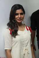 Samantha Ruth Prabhu Smiling Beauty in White Dress Launches VCare Clinic 15 June 2017 013.JPG