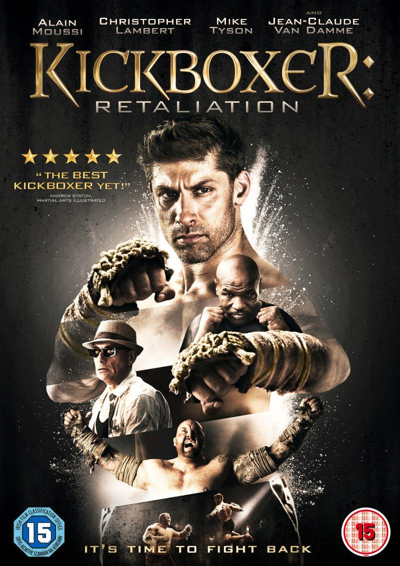 KICKBOXER: RETALIATION dvd