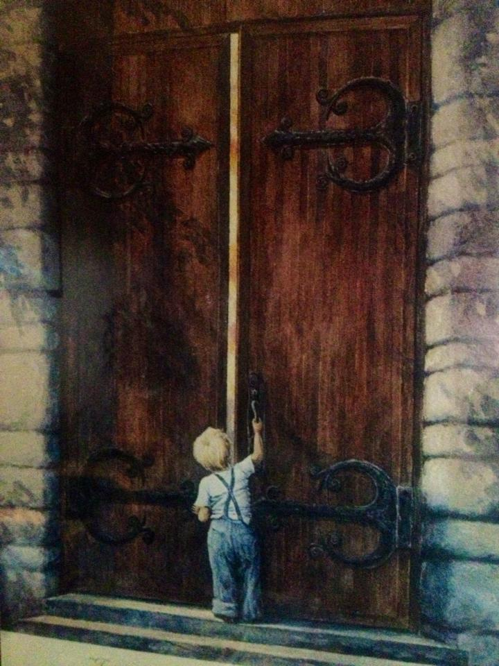 Pilgrim Scribblings: Big Door