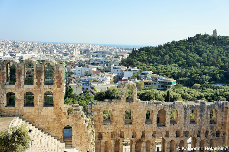 Odeon of Herodes Atticus Acropolis One Day in Athens