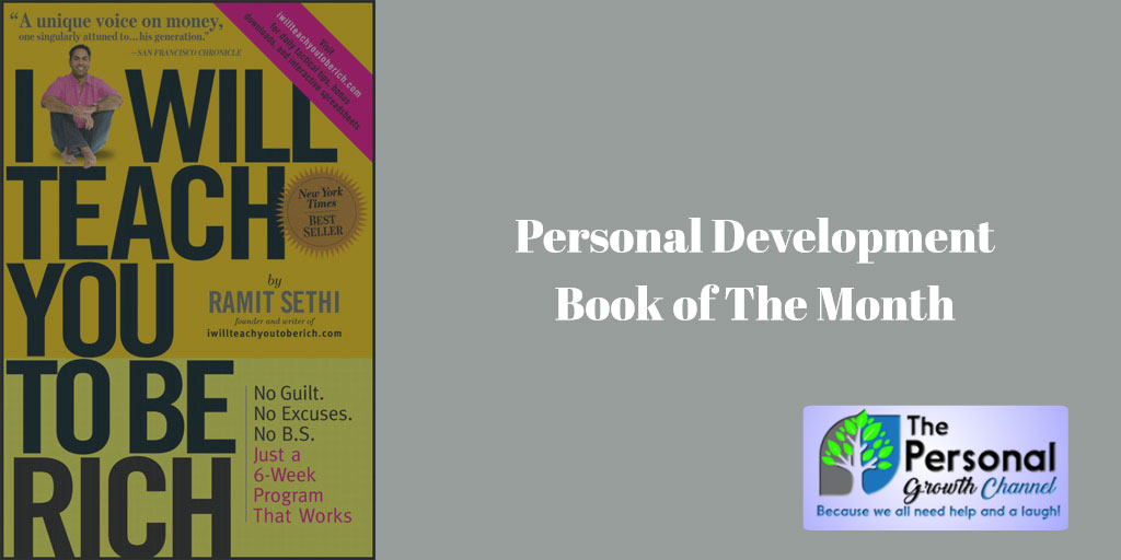 Personal Development Book of The Month: I Will Teach You To Be Rich by Ramit Sethi