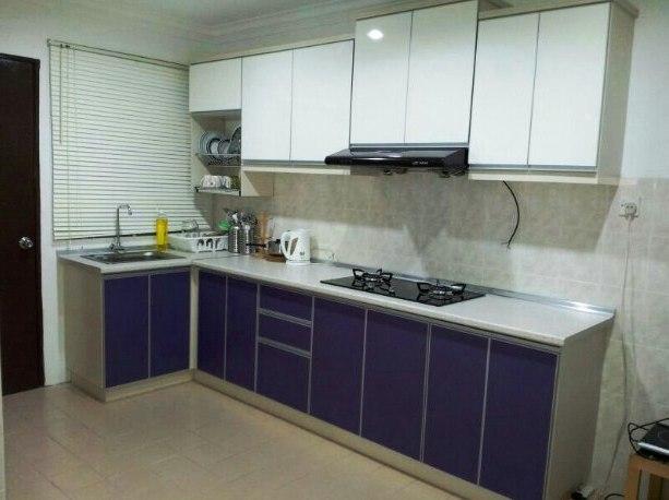 Lemari Kabinet Dapur Rumah Minimalis Modern