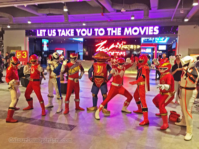 power rangers cosplay sunway velocity mall cosplayers
