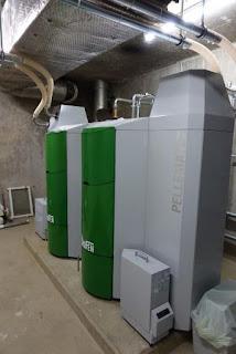 calefacción con pellets suiza