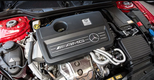 2017 Mercedes A45 AMG Engine