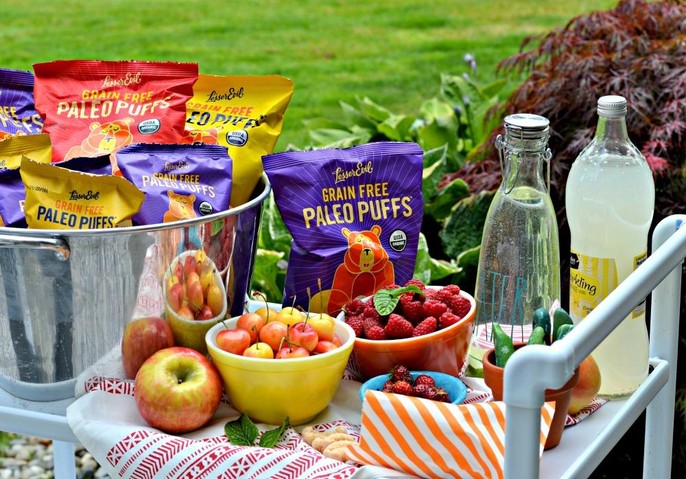 summer snacking for kids