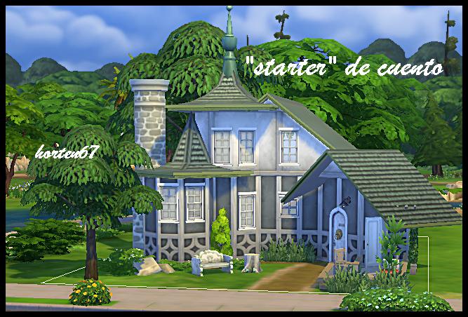 Mis casas y mas con los Sims 4 - Página 18 Startercuento