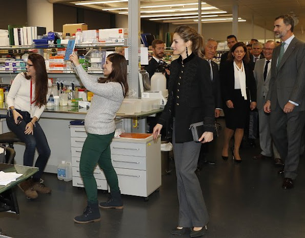 King Felipe and Letizia visit Champalimaud Foundation in Lisbon