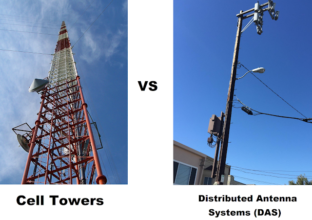 cell towers vs distributed antenna systems