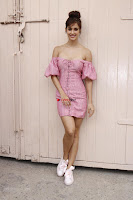 Disha Patani Looks stunning in Small Short Pink Dress @ The Promotions Of Baaghi 2 ~  Exclusive Galleries 011.jpg