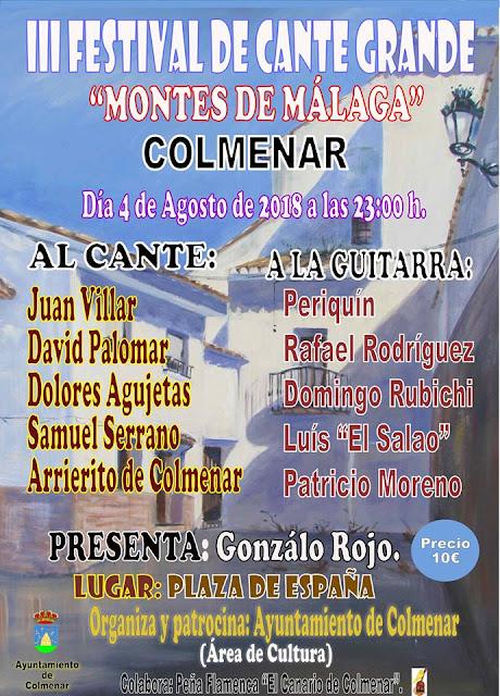 III Festival de Cante Grande de Colmenar