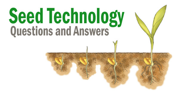Seed Technology Objective Questions