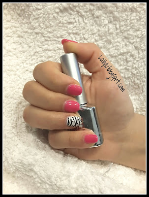 Nail art semplice veloce