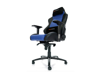 MAXNOMIC Dominator (Blue) Premium Gaming Office and Esports Chair