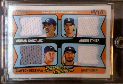 Dodgers Blue Heaven 2014 Topps Heritage Baseball The Rare