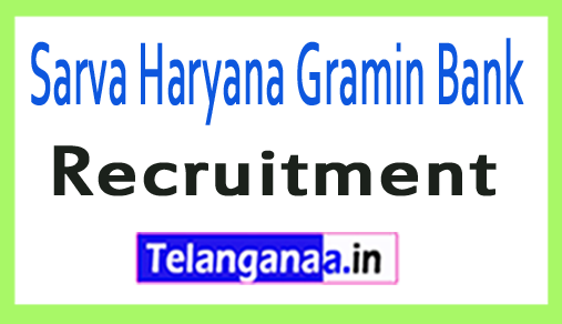 Sarva Haryana Gramin Bank SHGB Recruitment