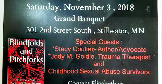 EmpowerSurvivors November 3rd Giving Voice About Childhood Sexual Abuse Event