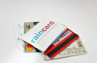 Credit Card Sized Raincoat – Raincard.
