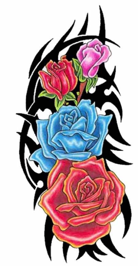 tattoos colored tattoo stencils